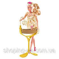 Кукла Штеффи беременная с кроваткой для королевского малыша Simba 5737084, фото 2