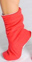 Тапочки - сапожки Красные
