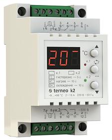 Двоканальний терморегулятор Terneo K2