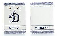 Кожаная обложка на паспорт Динамо Киев
