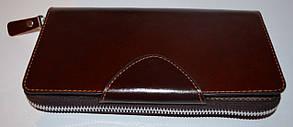 Кожаный клатч мужской ручной m011