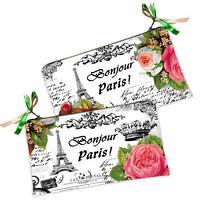 Косметичка-кошелек Bonjour Paris!