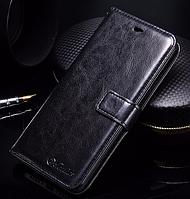 Кожаный чехол-книжка для Xiaomi Mi5s Mi 5s черный