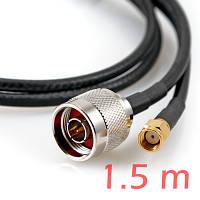 ALFA CFD-200 N-SMA 1.5м low loss кабель пигтэйл