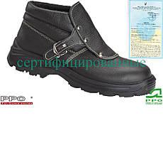 Рабочая обувь для сварщика с термостойкой подошвой Польша (спецобувь) BPPOT443 B