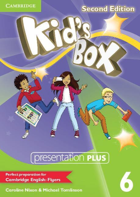 Kid's Box Second Edition 6 Presentation Plus DVD-ROM