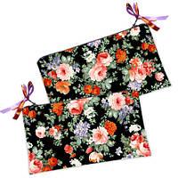 Косметичка-кошелек Цветы
