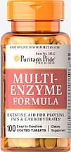 Специальные препараты Puritan's Pride Multi Enzyme Formula 100 таблеток