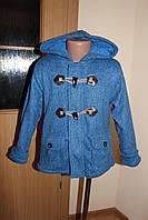 Куртка - кофта для мальчика на махре. Размер 2 - 10 лет