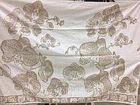 Простынь махровая ТМ Речицкий текстиль (Белоруссия), Орхидея  хлопок/лен 208х150 см