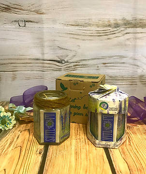 Подарочная свеча в индивидуальной упаковке, фото 2