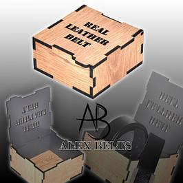 Подарочные коробочки для ремней оптом