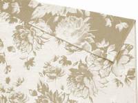 Простынь махровая ТМ Речицкий текстиль (Белоруссия), Вальс цветов хлопок/лен 208х150 см