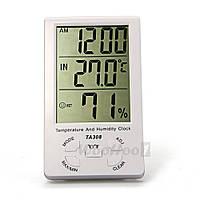 Часы Термогигрометр с ЖК-дисплеем WooHoo