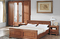 Мебель в спальню BAWARIA Black Red White