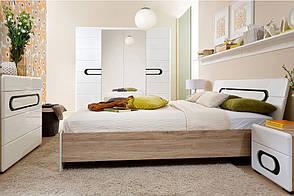 Мебель в спальню BYRON Black Red White