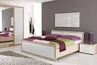 Мебель в спальню BELINDA Black Red White