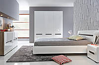 Мебель в спальню AZTECA Black Red White