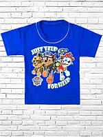 """Детская футболка для мальчика с рисунком """"Щенячий патруль"""""""