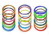 Пластик для 3D ручки ABS 15 цветов по 10 метров