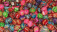 Яйцо роспись к пасхе (дерево, 3-4 см), 8\6 (цена за 1 шт.+2 грн)