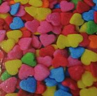 Посыпка сахарная фигурная Сердечки № 4