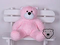 Мягкий плюшевый мишка Боб 100 см. от украинского производителя 7 цветов в наличии розовый