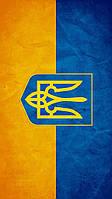 Виниловая наклейка на телефон М Флаг Украины