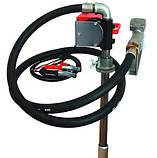 Бочковий насос для заправки і перекачування дизельного палива PTP 24В, 40 л / хв, фото 2