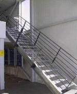 Металлические лестницы и ограждения вариант №22