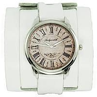 Наручные часы на эксклюзивном ремешке Белый винтаж