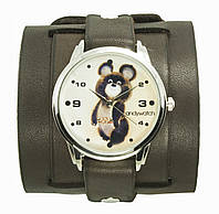 Наручные часы на эксклюзивном ремешке Олимпийский мишка