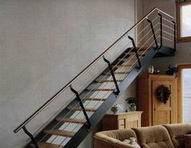 Металлические лестницы и ограждения вариант №26