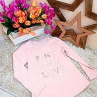 Футболка-лонгслив для девочки Оптом и в розницу от Breeze Турция 6-12 лет Pink, фото 1
