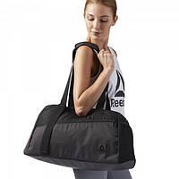 ddbf9db73702 Спортивная сумка Рибок женская Enhanced Lead & Go Active черная для  тренировок и фитнеса CD7316 -