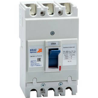 Вимикач автоматичний OptiMat E100L100-УХЛ3, фото 2