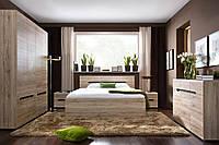 Мебель в спальню ELPASSO Black Red White
