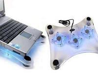"""Охлаждающая подставка для ноутбука куллер CoolerPad 15.6"""""""