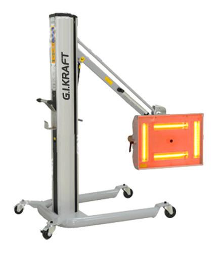 """Лампа коротковолновая для ИК-сушки G.I. KRAFT GI15130 -  Интернет-магазин """"Инструмент-центр"""" в Днепре"""