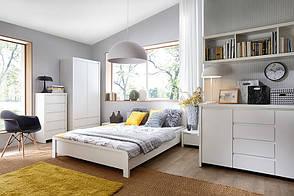 KASPIAN белый Спальня BRW