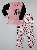 Теплая женская пижама - Панда