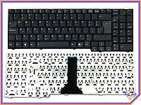 Клавиатура для ноутбука ASUS F7S ( RU Black ). Оригинальная клавиатура. Русская раскладка. Цвет Черный.