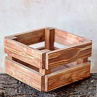 Деревянный декоративный ящик, фото 1