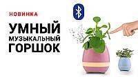 Музыкальный горшок Smart Music Flower pot, розовый