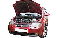 Газовый упор капота Chevrolet Aveo t200 (2011+) (1 шт)