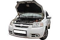 Газовый упор капота Chevrolet Aveo t250 (2011+) (2 шт)