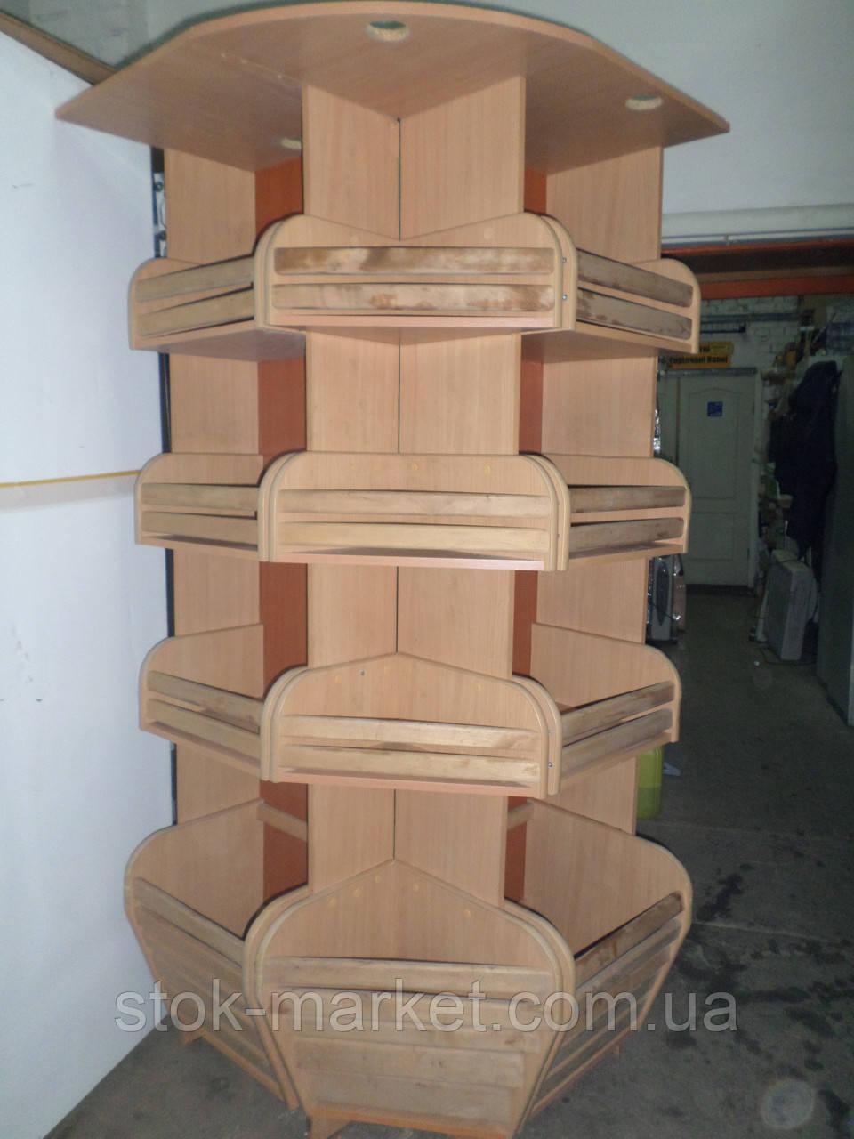 Стойка для выпечки и хлебобулочных изделий угловая