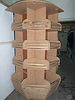 Стойка для выпечки и хлебобулочных изделий угловая, фото 1