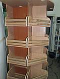 Стойка для выпечки и хлебобулочных изделий угловая, фото 3