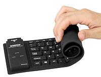 Резиновая гибкая USB-клавиатура Roll